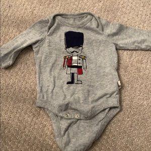 Baby Gap nutcracker onesie